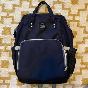 LAND diaper bag backpack